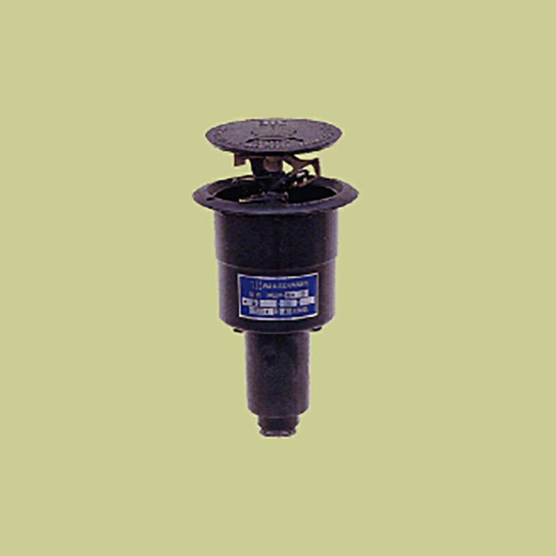 �耐久 金属 (緑化用 公園等) ポップアップスプリンクラー PUP-50G 口径 4 mm 基本寸法 1PT(3/4) 27度 共立イリゲート �J【代引不可】