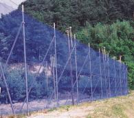 【8巻】 防風ネット 4mm 目合 巾 0.5m×長さ 50m シN直送