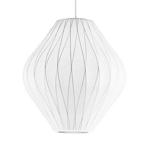 【送料無料】【米国・Herman Miller社正規品】 George Nelson Bubble Lamp Pendant Pear Crisscross  ジョージネルソン バブルランプ ペンダント クリスクロス・ペアー (Mサイズ)【smtb-F】◇ハーマンミラー ミッドセンチュリー 通販 楽天 デザイン