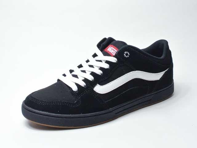 【Vans】BAXTER/バクスター・black/white (日本未展開レアシューズ・90年代スケートシューズリプロダクト)