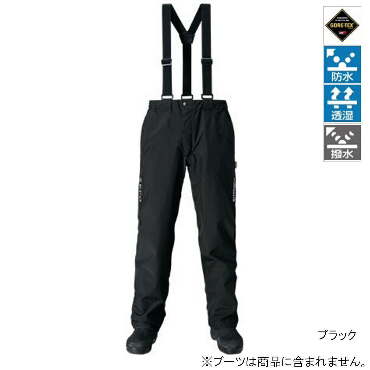 シマノ XEFO GORE-TEX BASIC Pants RA-27PQ M ブラック(東日本店)