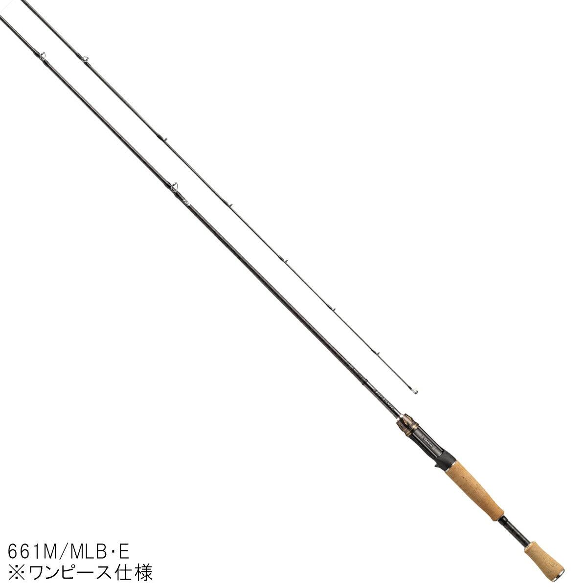 ダイワ エアエッジ・E ベイトキャスティングモデル 661M/MLB・E【大型商品】