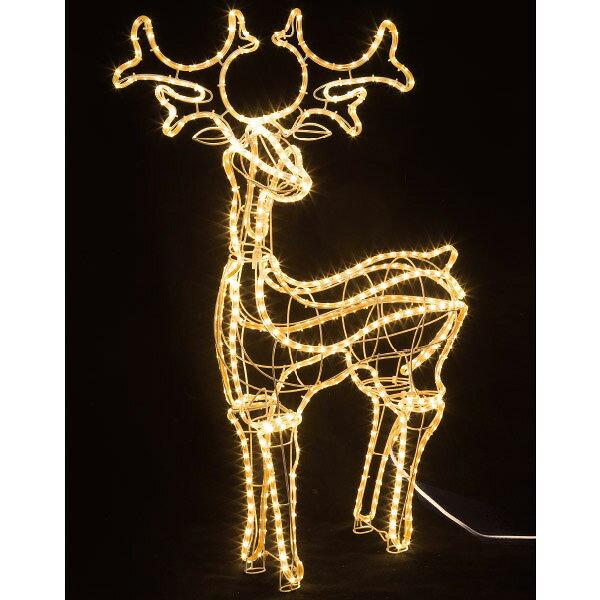 SMDテープライトモチーフ(スタンディングトナカイ)|クリスマス (Xmas)イルミネーション・照明演出