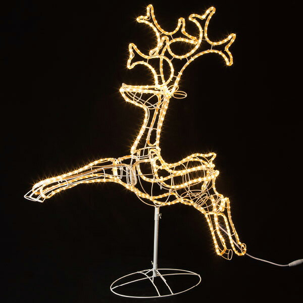 SMDテープライトモチーフ(ジャンピングトナカイ)|クリスマス (Xmas)イルミネーション・照明演出