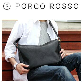 PORCO ROSSO(ポルコロッソ)ムーンショルダーバッグ(Mサイズ) [nouki4]