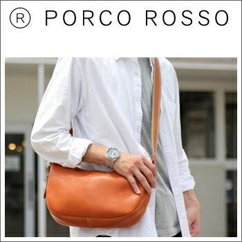 PORCO ROSSO(ポルコロッソ)ムーンショルダーバッグ(Sサイズ) [nouki4]