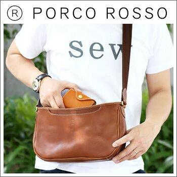 PORCO ROSSO(ポルコロッソ)バルケッタショルダーバッグ [nouki4]