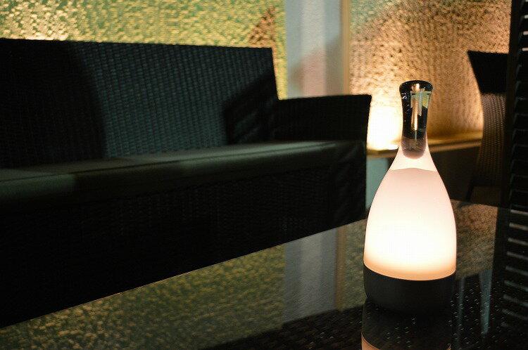 【Bottled 】 ボトルド ボトルランプ ランプ  照明 おしゃれ  持ち運び自由 コードレス テラス ベッドサイド  屋内 屋外   10P03Sep16