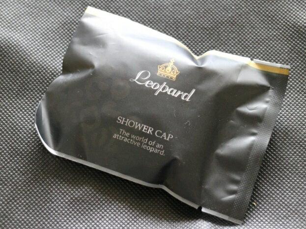 アメニティ/シャワーキャップ/レオパードシリーズ/2000個セット/業務用ホテル様向け/送料無料/
