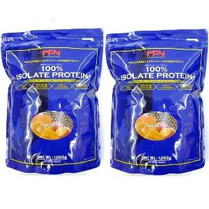 ※ 送料サービス!! 2kg分(1kg × 2)ボディフィット MPN 100%アイソレートプロテイン トロピカルパンチ風味