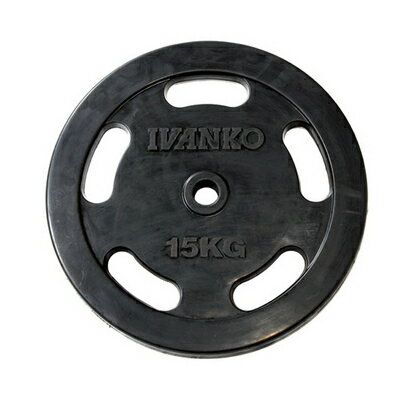 イバンコ  RUBKZ ラバースタンダードプレート 15.0kg φ28mm