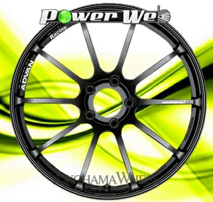 [ホイール1本(単品)] YOKOHAMA WHEEL / ADVAN Racing RSII (SGB) 18インチ×7.5J PCD:114.3 穴数:5 インセット:48