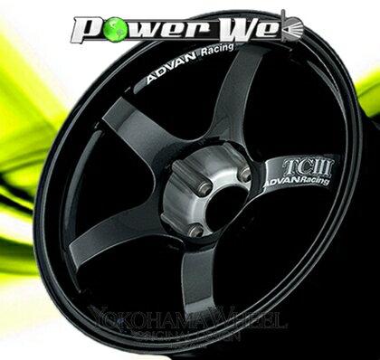 [ホイール1本(単品)] YOKOHAMA WHEEL / ADVAN Racing TCIII (DG) 18インチ×9.5J PCD:114.3 穴数:5 インセット:45