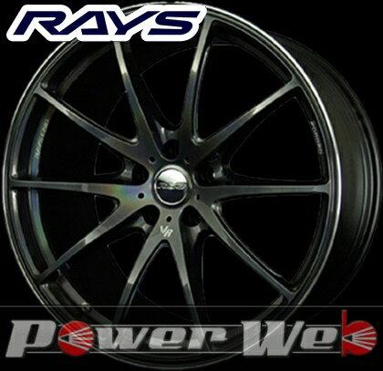 RAYS(レイズ) VOLK RACING G25 PRISM COLOR (ボルクレーシング G25 プリズムカラー) 18インチ 8.5J PCD:114.3 穴数:5 inset:52 FACE-1 カラー:プリズムダークシルバー [ホイール1本単位]M