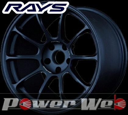 RAYS(レイズ) VOLK RACING ZE40 (ボルクレーシング ZE40) 18インチ 9.0J PCD:114.3 穴数:5 inset:45 FACE-1 カラー:マットブルーガンメタ [ホイール1本単位]M