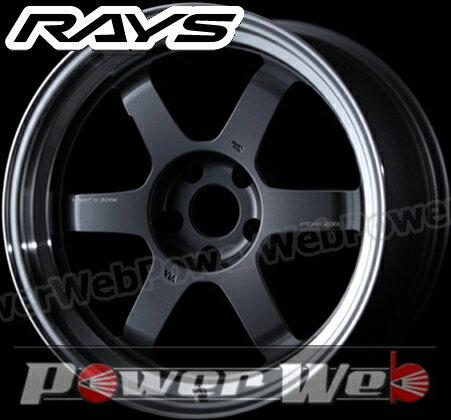 RAYS(レイズ) VOLK RACING TE37V MARK-II (ボルクレーシング TE37V マーク2) 18インチ 9.0J PCD:114.3 穴数:5 inset:-15 S Fase-2 カラー:ガンメタリック/リムDC [ホイール1本単位]M