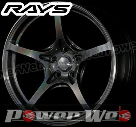 RAYS(レイズ) VOLK RACING G50 (ボルクレーシング G50) 18インチ 8.5J PCD:114.3 穴数:5 inset:35 FACE-2 カラー:プリズムダークシルバー [ホイール1本単位]