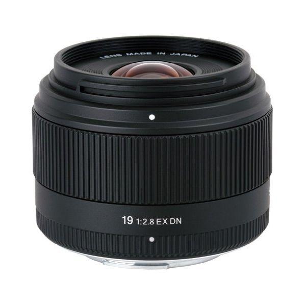 【中古】【1年保証】【美品】 SIGMA 19mm F2.8 EX DN MFT マイクロフォーサーズ
