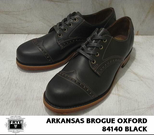 フライ/FRYE ARKANSAS BROGUE OXFORD/アラカンサス ブローグ オックスフォード ブラック/BLACK 84140