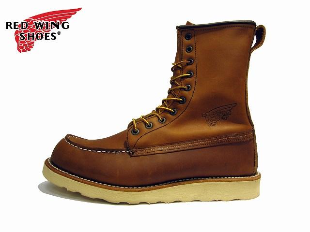 純正ケア用品2点プレゼント レッドウィング ブーツ 877  RED WING #877 CLASSIC WORK 8MOC-TOE レッド・ウィング クラシックワーク 8インチ・モック・トゥ国内正規品