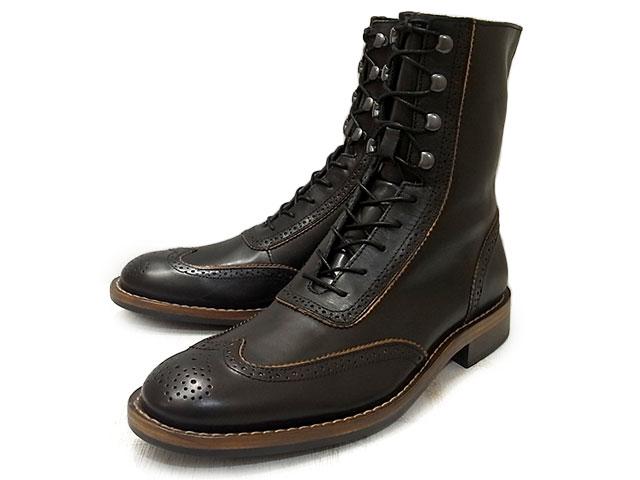 ウルヴァリン 1000マイルブーツ ウィンチェスター ブローグ ブーツ ブラック メンズ ウルバリン WOLVERINE 1000MILE BOOT WINCHESTER BROGUE BOOT W06492 Black Horween Predator Leather