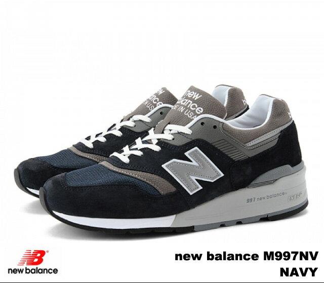 ニューバランス 997 ネイビー メンズ スニーカー new balance M997 NV newbalance M997NV NAVY