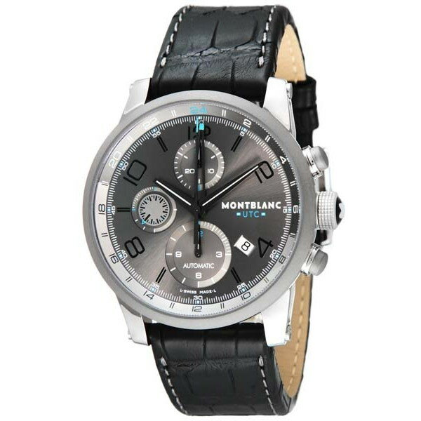 【送料無料】Montblanc MBL-107339 TIME WALKER UTC 自動巻き [腕時計]