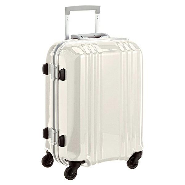 【送料無料】アジア・ラゲージ MM-5188 ホワイトスキン A.L.I(エー・エル・アイ) デカかる2 [スーツケース(34L/1~2泊) 機内持ち込み可]