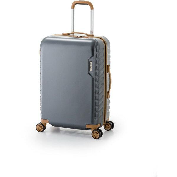 【送料無料】アジア・ラゲージ MS-202-25 ガンメタ マックススマート [スーツケース (50L/2~3泊)]