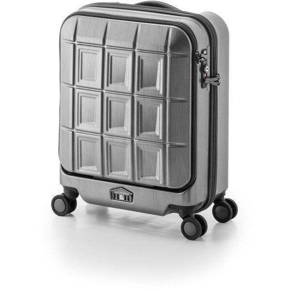 【送料無料】アジア・ラゲージ PTS-5005K マットブラッシュブラック パンテオン [スーツケース (32L/1~3泊)]