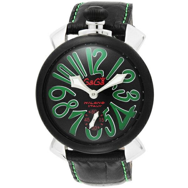 【送料無料】GAGA milano 5013.02S-BLK マヌアーレ 自動巻き [腕時計]