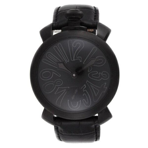 【送料無料】GAGA milano ガガミラノ 5012MOSAICO02S-BLK マヌアーレ 自動巻き [メンズ 腕時計]