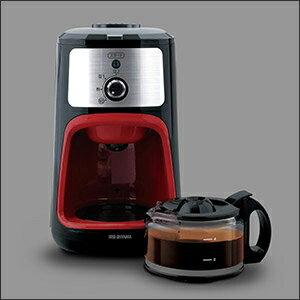 【アイリスオーヤマ 全自動コーヒーメーカー IAC-A600】[返品・交換・キャンセル不可]