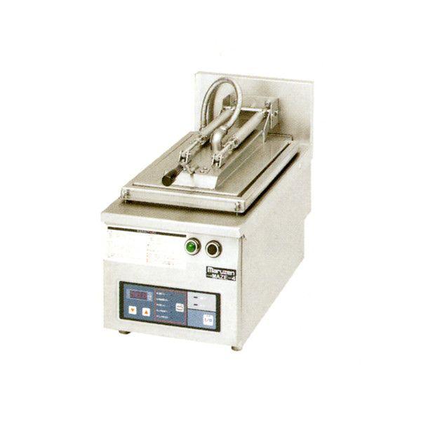 新品 税 送料込 マルゼン 電気自動餃子焼器 MAZE-6S W410×D600×H285×B150 フタ取り外しタイプ