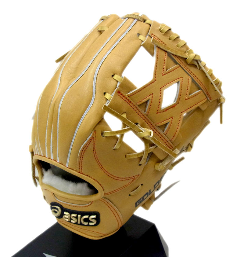 値引きする asics(アシックス) 一般硬式グラブ ゴールドステージ スピードテックQR 内野手用 右投げ用 (14) BGHELT