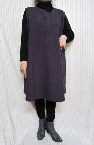 ぶどう狩りに行きましょうチュニックベスト・ジャンスカ綿100% 大きいサイズ やせて見える30代.40代.50代.60代.70代のための個性派シニア・レディースファッション
