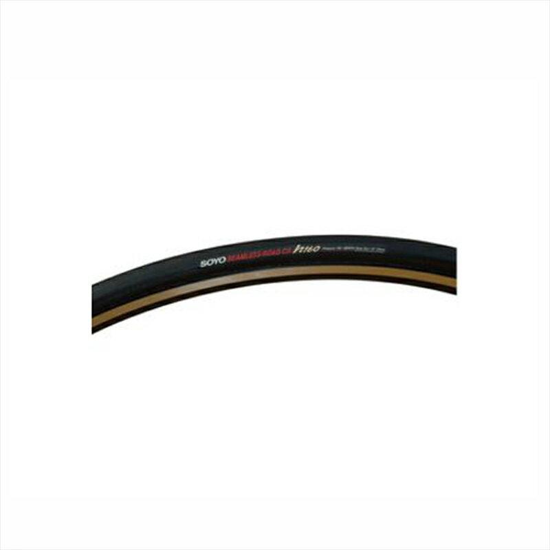"""SOYO TYRE (ソーヨータイヤ) SEAMLESS ROAD CR h160 (シームレスロード CR h160) 28""""×20mm ブラック[700×22~24c][チューブラータイヤ][タイヤ・チューブ]"""