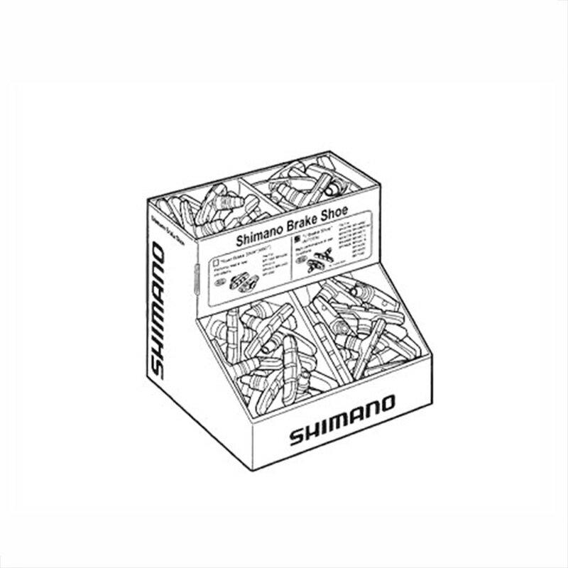 SHIMANO (シマノ) SEMI-BULK BOX 50PAIR (セミバルクBOX 50ペア) BR-M330/S65T[ブレーキシュー(Vブレーキ用)][消耗品・ワイヤー類]
