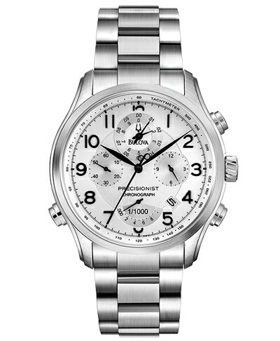 【送料無料】国内正規品 BULOVA PRECISIONIST[ブローバ プレシジョニスト]WILTON メンズ腕時計 96B183 【新品】 【RCP】