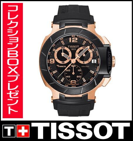 【送料無料】国内正規品 TISSOT[ティソ] T-Sport  T-Race Chrono メンズ腕時計 T048.417.27.057.06【RCP】【P08Apr16】