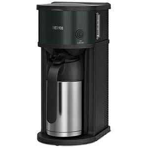 サーモス 真空断熱ポット コーヒーメーカー(0.63L) ECF-701-BK (ブラック)(送料無料)
