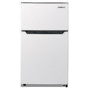 �イセンス 2ドア冷蔵庫 (93L) HR�B95A�W (ホワイト)(標準設置無料)
