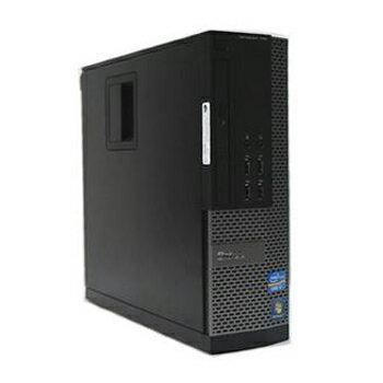 中古パソコン DELL Optiplex 790SF Windows 7 Pro Core i3 3.3GHz 4GB 新品SSD 120GB+新品HDD 1TB DVD-ROM リカバリディスク 【中古】【デスクトップ】