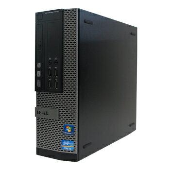 中古パソコン DELL Optiplex 7010SF Windows10 Pro Core i3 3.3GHz 16GB 新品2TB DVDマルチ 【中古】【デスクトップ】