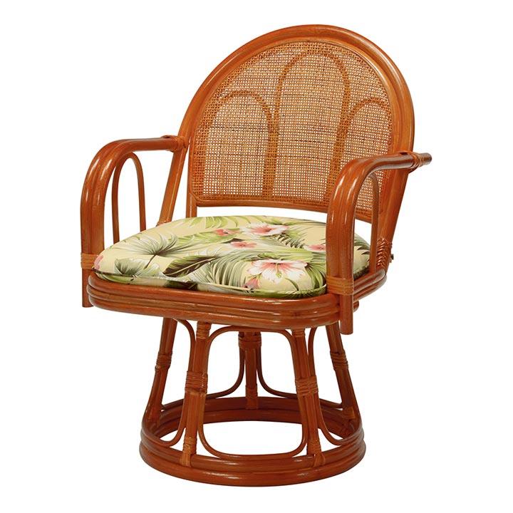 [12/17 4hP最大10倍]【座椅子 回転】回転座椅子【座いす 座イス 1人掛けソファ】 RZ-473【D】【HH】
