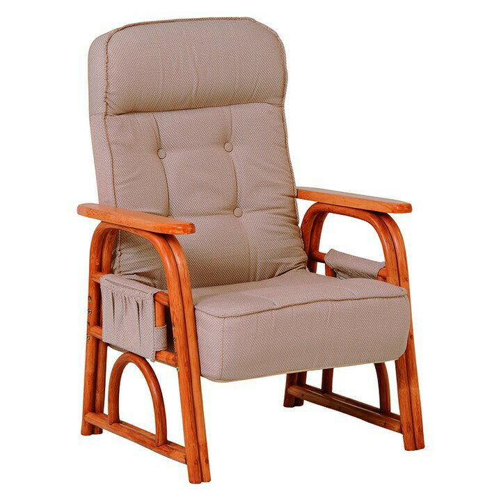 [12/17 4hP最大10倍]ギア付き座椅子 ナチュラル RZ-1255NA送料無料 座椅子 椅子 イス いす 籐製 ラタン おしゃれ 座椅子いす 座椅子おしゃれ 椅子いす いす座椅子 おしゃれ座椅子 いす椅子 萩原 【TD】 【代引不可】