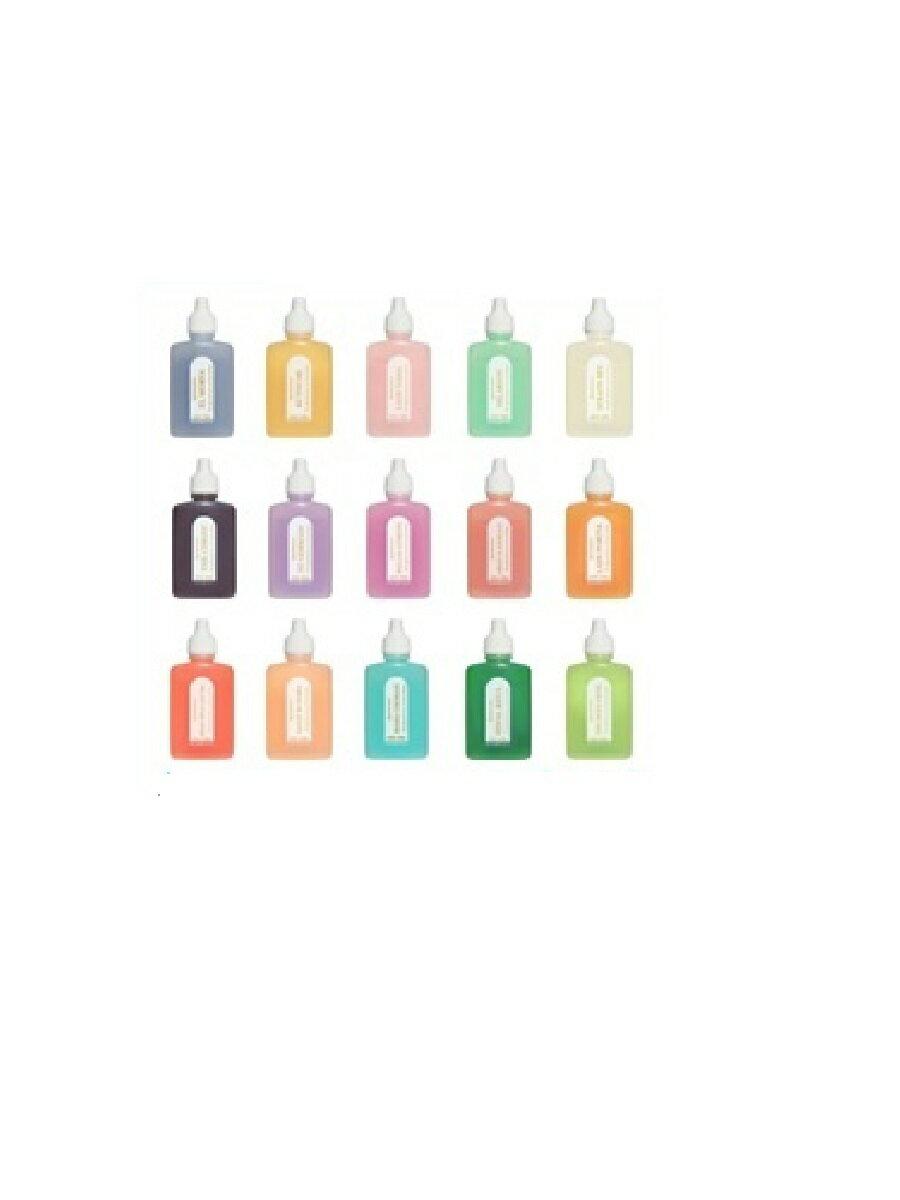 オーラソーマ クイントエッセンス全15本フルセット (各25ml)消費  レインボーカラーズ