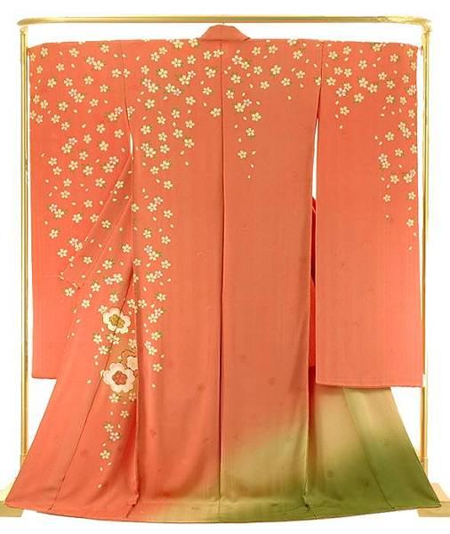 正絹振袖 桜の詩 結婚式 卒業式 フォーマル 和装 着物