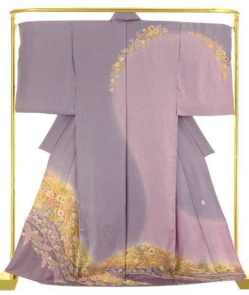 正絹辻が花訪問着  結婚式 卒業式 フォーマル 和装 着物