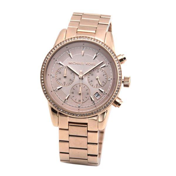MICHAEL KORS(マイケルコース) MK6357 レディース クロノグラフ 腕時計【代引不可】【ポイント10倍】